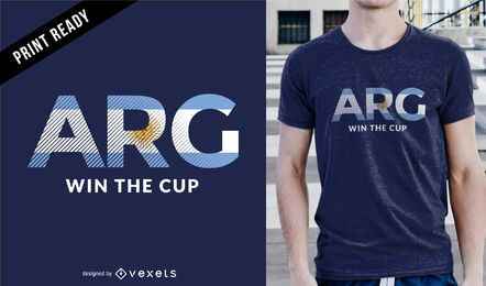 Russia Cup Argentina t-shirt design