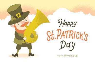 Cartel del día de San Patricio