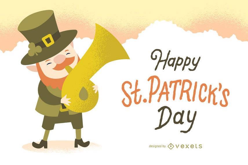 St Patrick's day poster