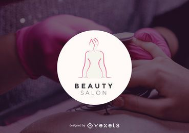 Beauty Salon Logo Vorlage