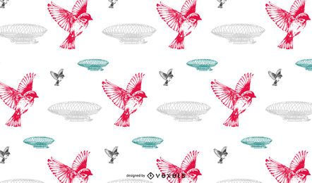 Seamless vintage pattern design