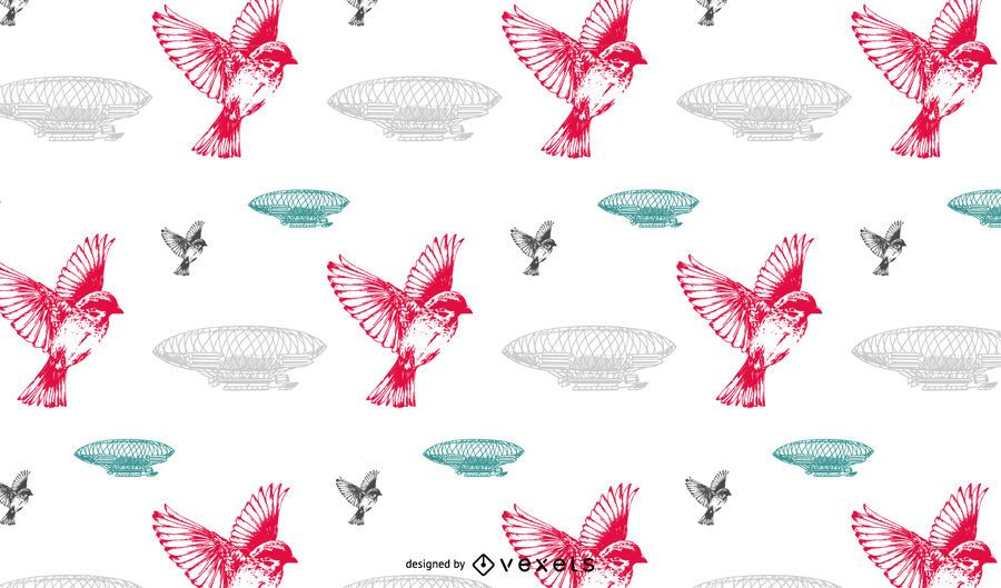Seamless vintage pattern design