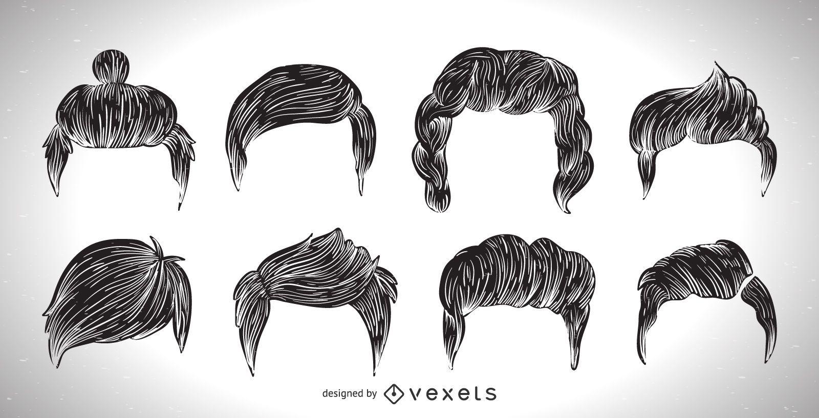Colección de cortes de pelo para hombres