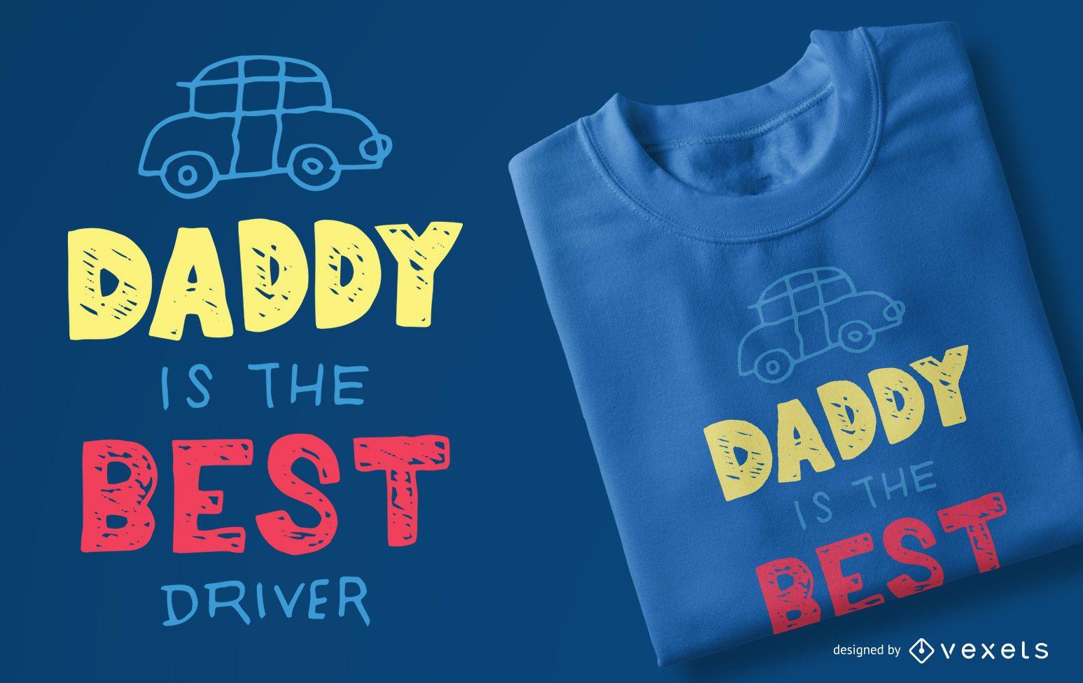 Best driver kids t-shirt design