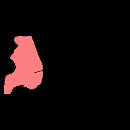 Mapa de condado de Akershus