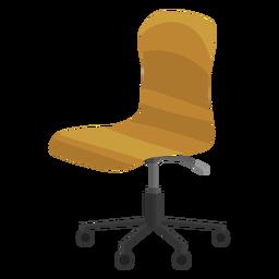 Clipe de cadeira de escritório sem braço