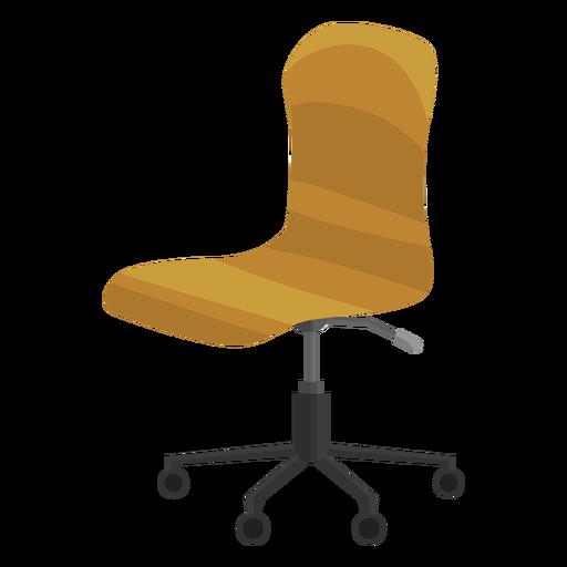 Imágenes prediseñadas de silla de oficina sin brazos Transparent PNG