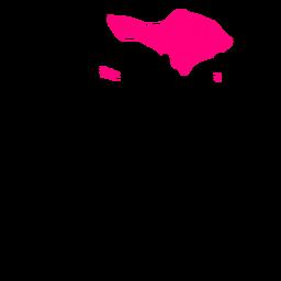 Mapa da província de Bali