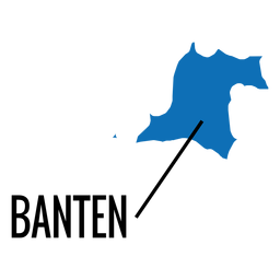 Banten province map
