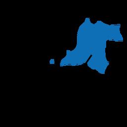 Mapa da província de Banten