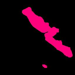 Mapa de la provincia de Bengkulu