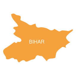 Bihar state map