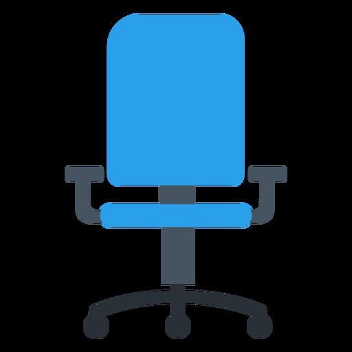 Imágenes prediseñadas de silla de oficina azul Transparent PNG