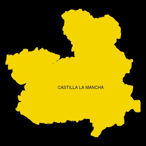 Mapa Castilla La Mancha Png.Mapa De La Comunidad Autonoma De Castilla La Mancha