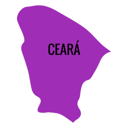 Ceara state map