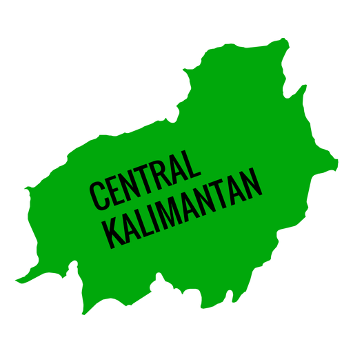 central kalimantan province map transparent png svg vector file transparent png svg vector file
