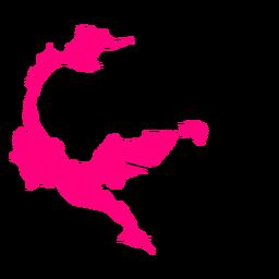 Mapa da província central de sulawesi