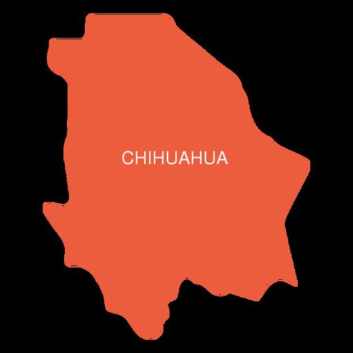 Chihuahua state map