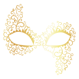 Colombina carnival mask icon