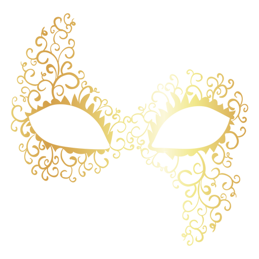 Colombina carnival mask icon Transparent PNG