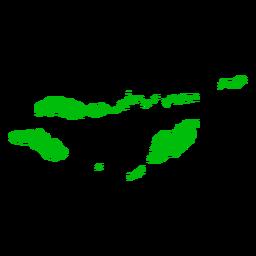 Mapa de la provincia de Nusa Tenggara Oriental