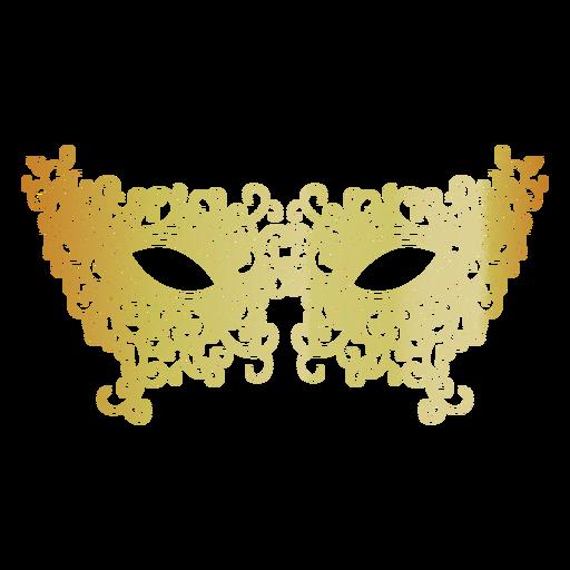 Filigree carnival mask icon Transparent PNG