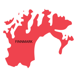 Finnmark county map