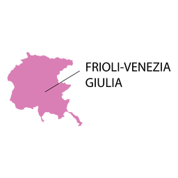 Friuli venezia giulia region map