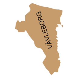 Mapa del condado de Gavleborg