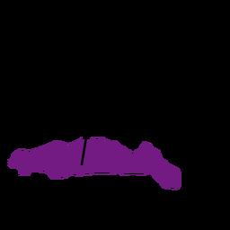 Mapa da província de Gorontalo