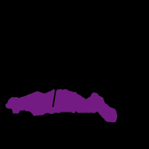 Gorontalo province map Transparent PNG