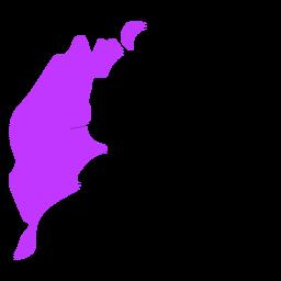 Gotland county map