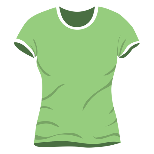 Green men t shirt icon Transparent PNG