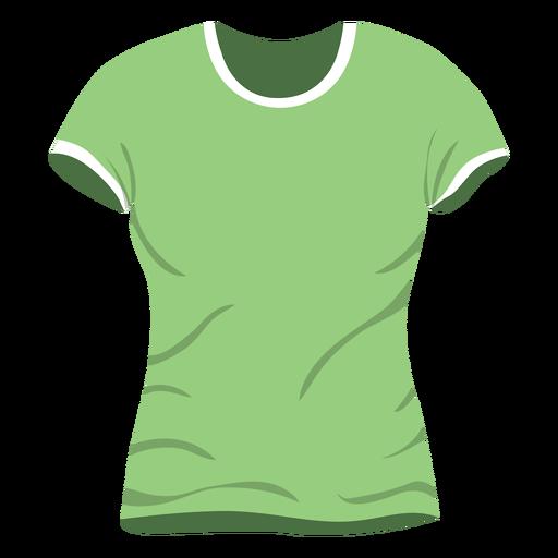 Green men t shirt icon
