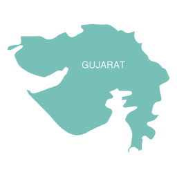 Gujarat state map