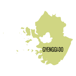 Gyeonggi do province map