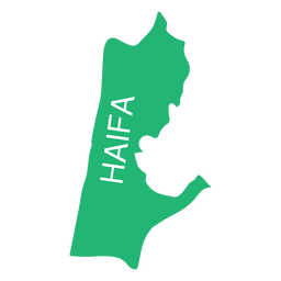 Haifa district map