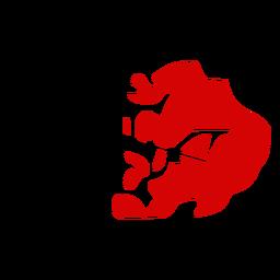 Mapa de condado de Hordaland