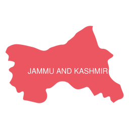 Jammu and kashmir state map