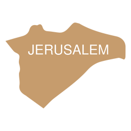 Jerusalem district map
