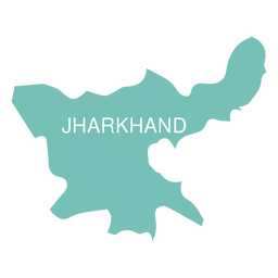Jharkhand state map