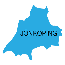 Jonkoping county map