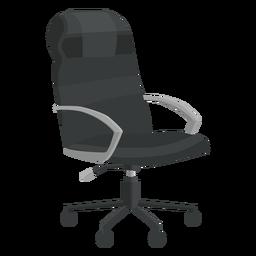 Cadeira de escritório de couro clipart