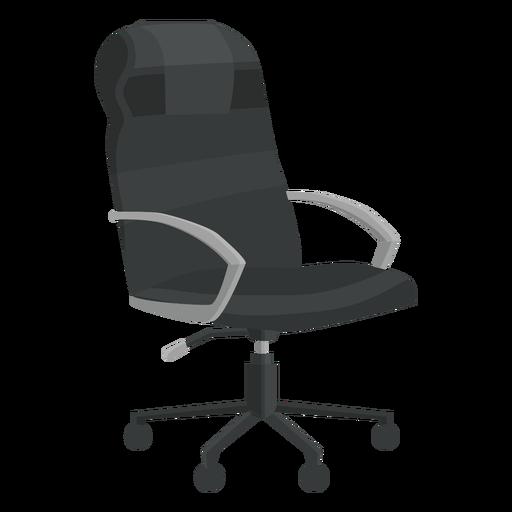 Silla de oficina de cuero clipart Transparent PNG