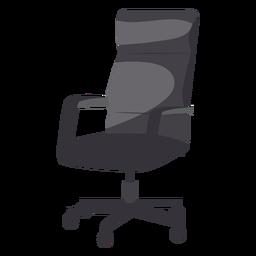 Icono de silla de oficina de cuero