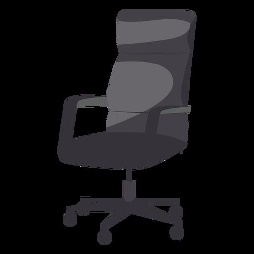 Icono de silla de oficina de cuero Transparent PNG