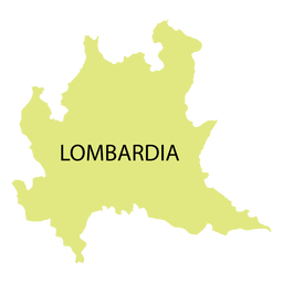 Lombardy region map