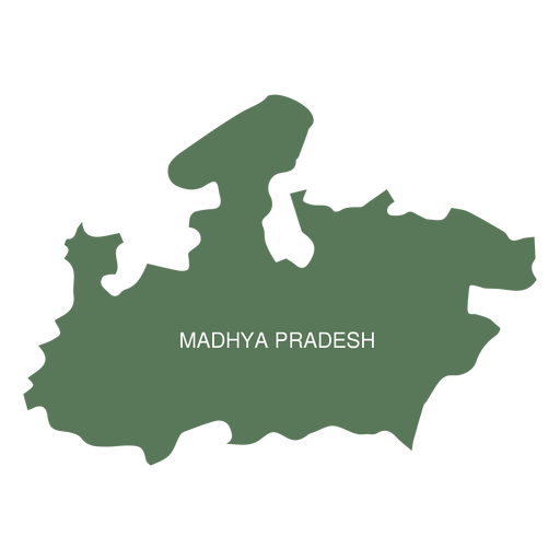 Madhya pradesh state map - Transparent PNG & SVG vector on jharkhand state map, gujarat state map, orissa state map, bihar state map, haryana state map, chhattisgarh state map, kerala state map, assam state map, tamil nadu state map, telangana state map, bengal state map, maharashtra state map, karnataka state map, punjab state map, uttaranchal state map, andhra state map,