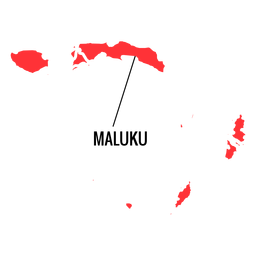 Maluku province map