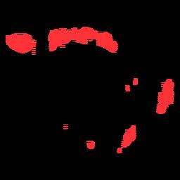 Mapa da província de Maluku